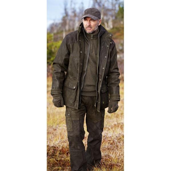 Veste de chasse homme supertrack 500 fluo